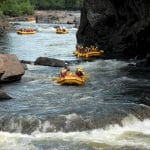 White Water Rafting on the Rouge River | New World Rafting