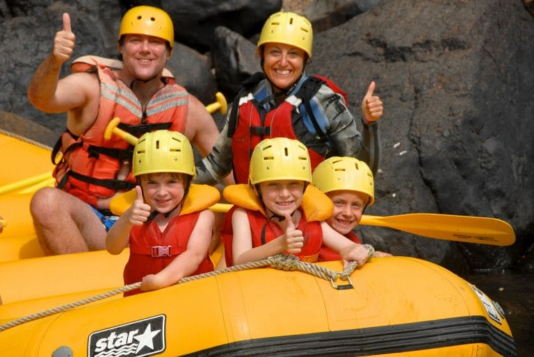 Family Rafting Adventure on the Rouge River | New World Rafting