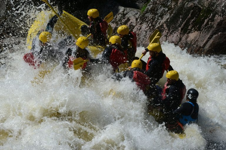 Photo rafting - Gang- Vague
