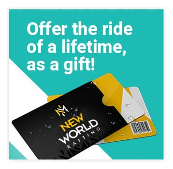 Offer the ride of a lifetime, as a gift! | New World Rafting