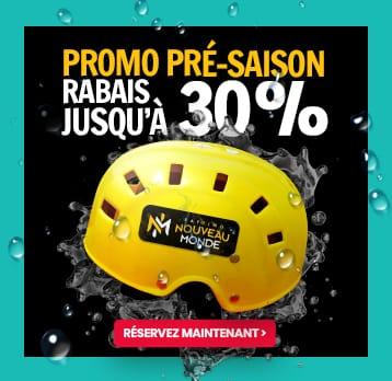 Promo Pré-saison 30%