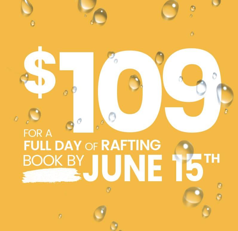 Rafting New World | Promotion | $109