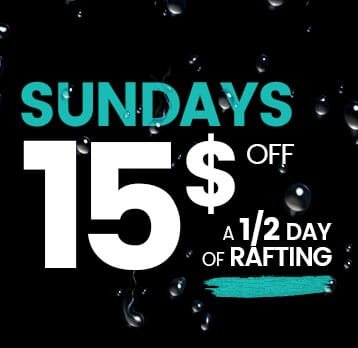 Rafting New World | Promotion | Sundays $15 off